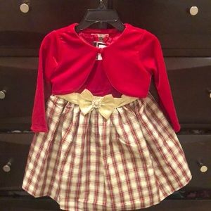 Rare Editions Holiday Dress 2T